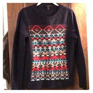 J. Crew navy blue sweater